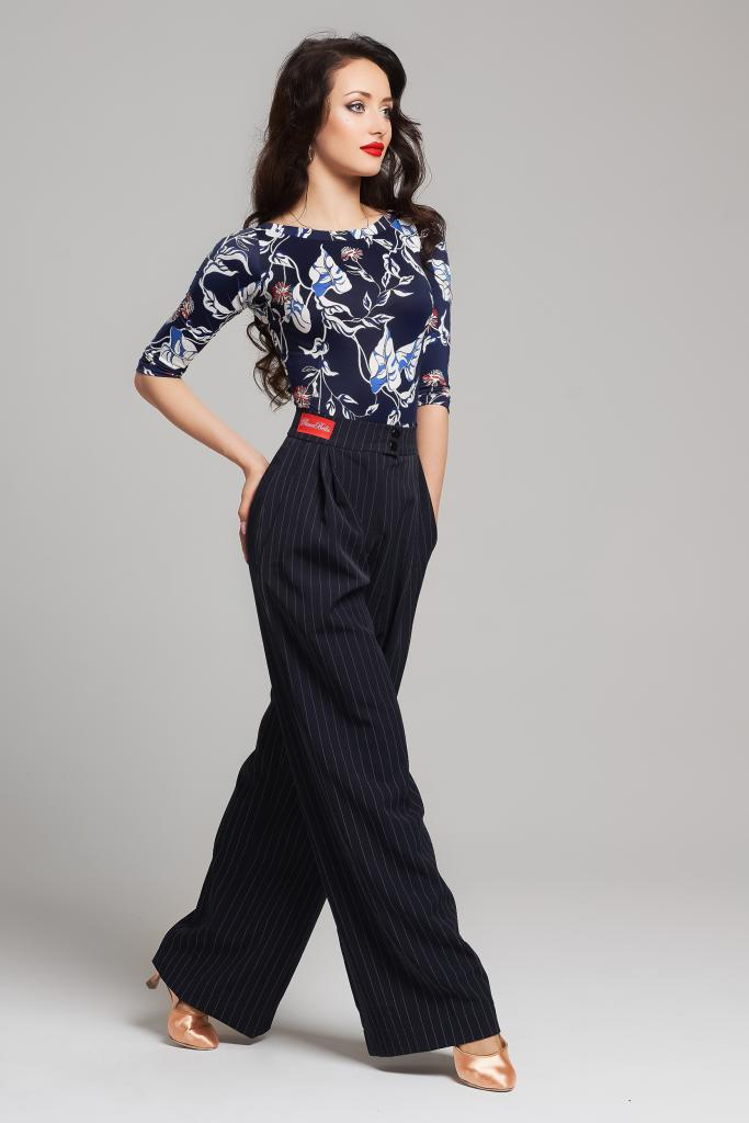 Trousers Retro Line Navy